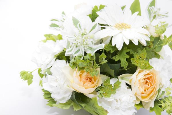婚活に成功して結婚を約束した人がもらった幸せの白いブーケ